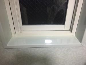 窓枠塗装アフター